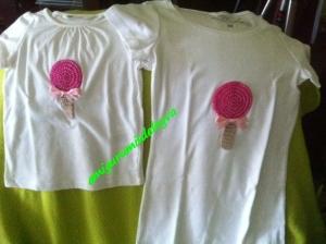 Camisetas Madre-Hija Piruleta