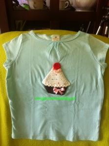 Camiseta Celeste Pastelito